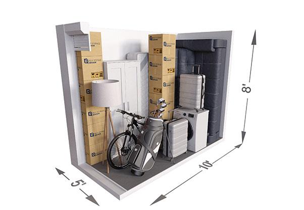 Storage Unit Size Guide Self Storage Advisor