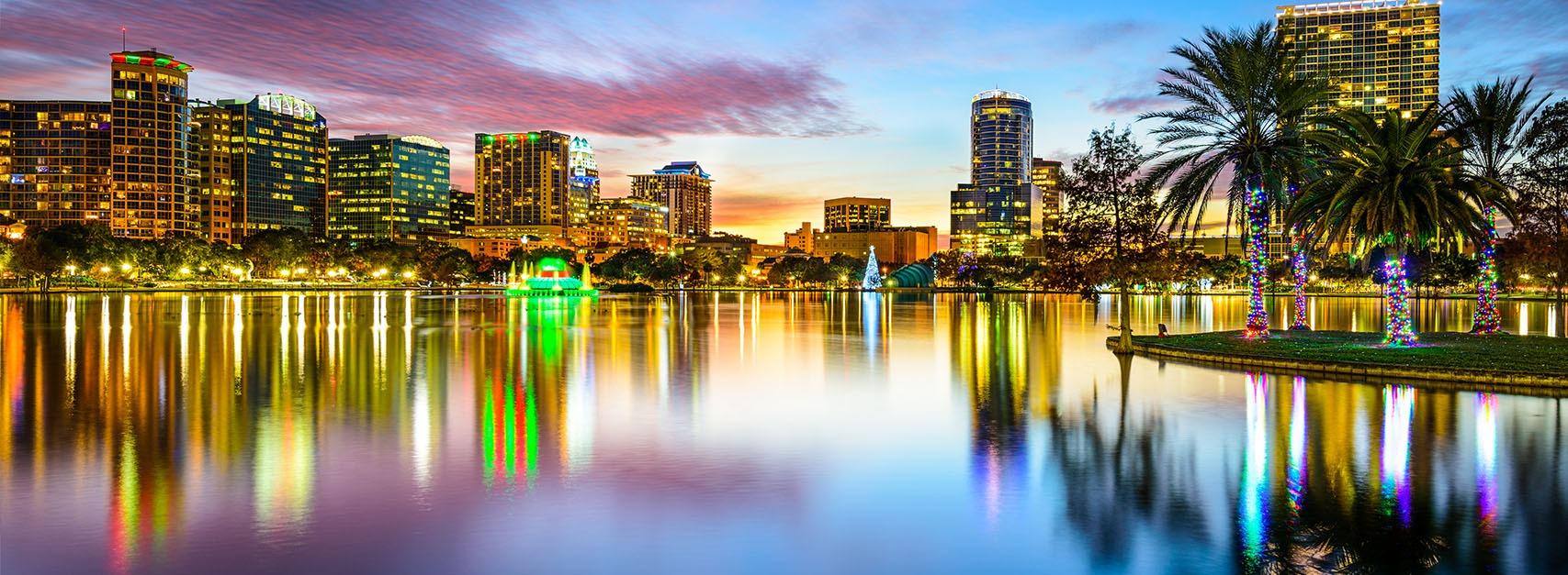 Orlando Skyline Banner