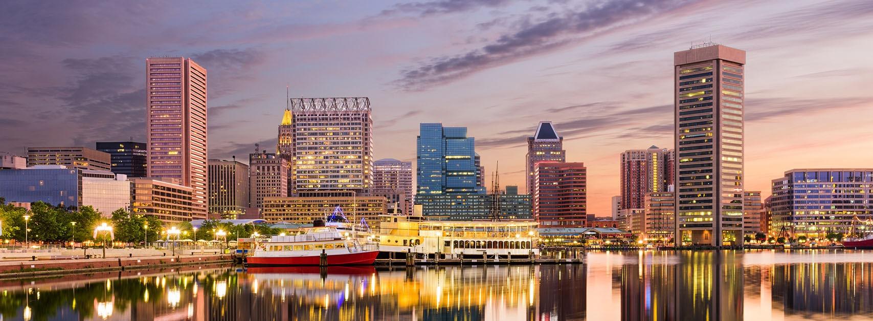 Baltimore Skyline Banner