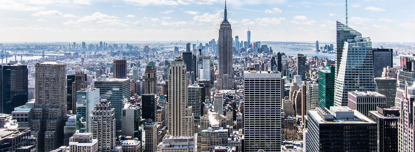 New York City Skyline Banner