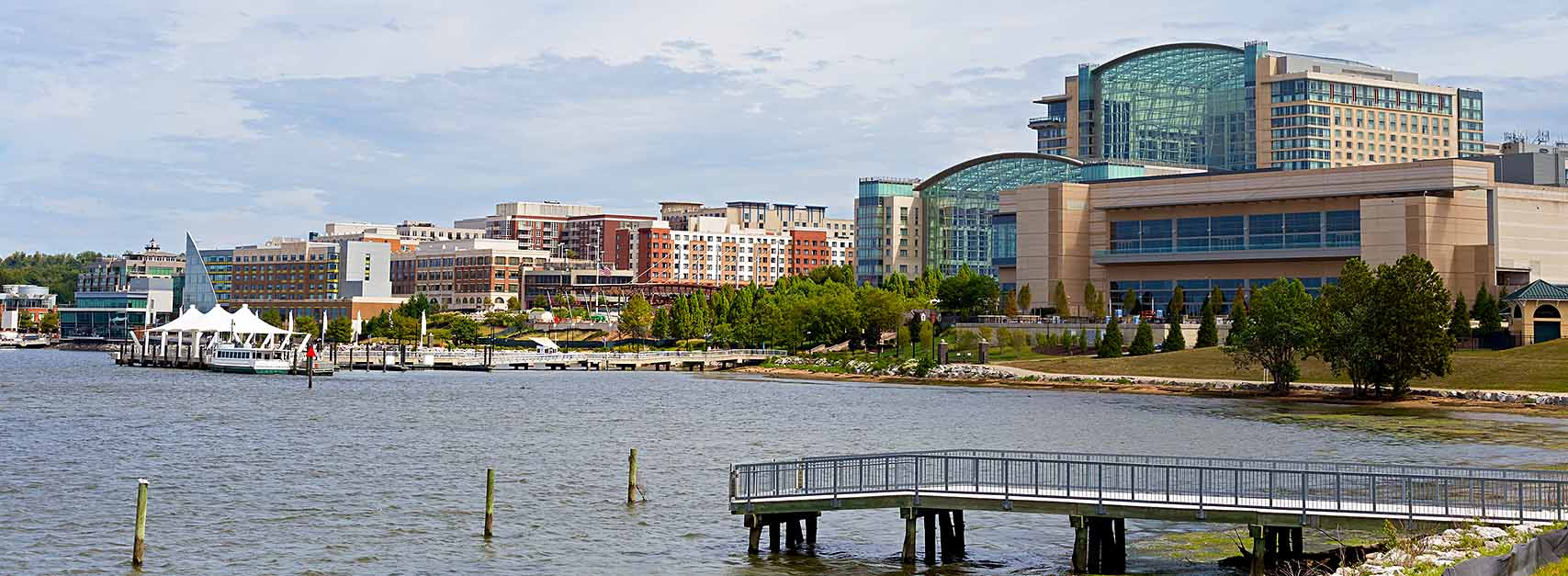 Maryland - Washington DC Metro Area Skyline Banner