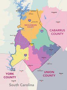 Charlotte Neighborhood Map